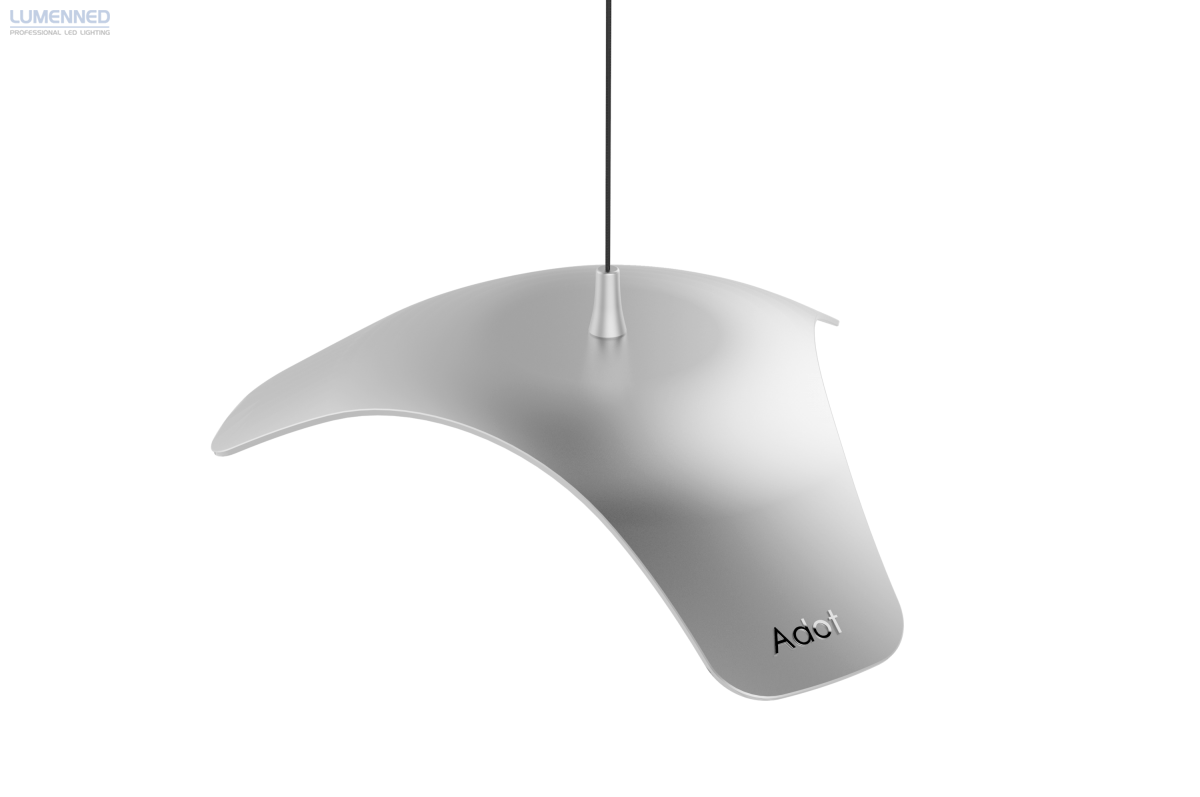 Adotled Pendant Lamp Silver, 10W, Þ 340mm. 4000K, 935lm