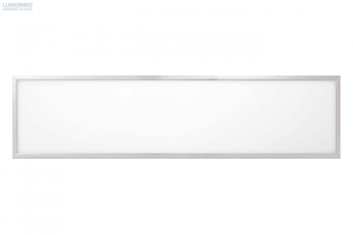 SHEENLY PRO LED panel, 35W 295 x 1195 mm WW 3000K 3240 LM White frame 10mm microprismatic UGR <19