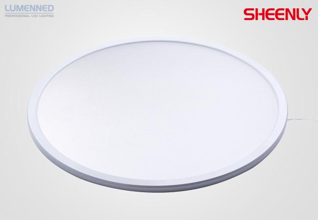 Sheenly LED Big Round Panel R-580, 40W, 3400LM, 3000K NW, D580*15mm, 120° beam UP/DOWN, White