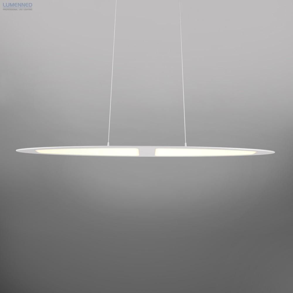 Adotled Pendant Lamp Silver, 28W, Size: 900x70x6mm. 1820lm, 2700K. KEDH030S1000R08A 1000 mA