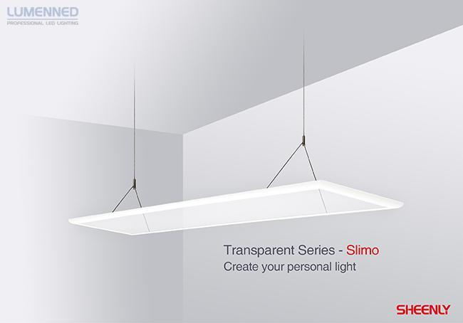 Sheenly Slimo 40W 50% up, 50% down 119,5 x 29,5 cm. 3400Lm 3000K